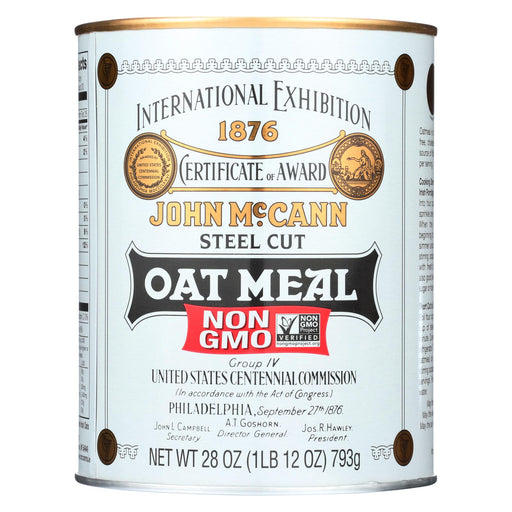 Mccann's Irish Oatmeal Irish Oatmeal Tin - Case Of 12 - 28 Oz.