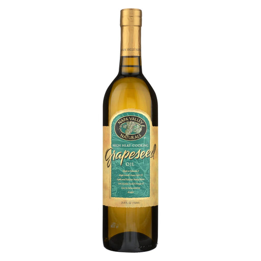 Napa Valley Naturals Grapeseed Oil - Case Of 12 - 25.4 Fl Oz.