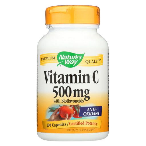 Nature's Way Vitamin C-500 With Bioflavonoids - 500 Mg - 100 Capsules