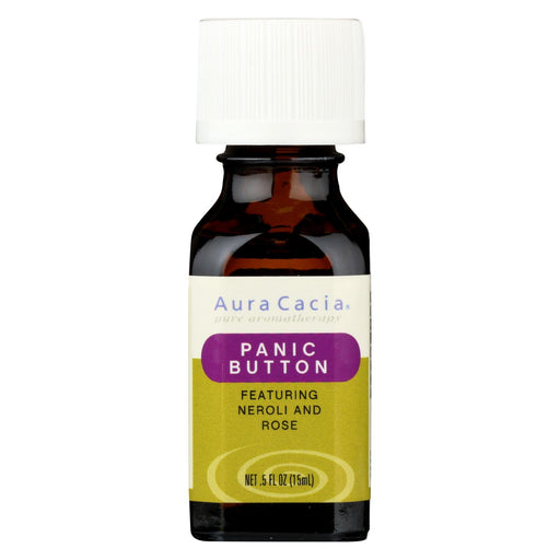 Aura Cacia Essential Solutions Oil Panic Button - 0.5 Fl Oz