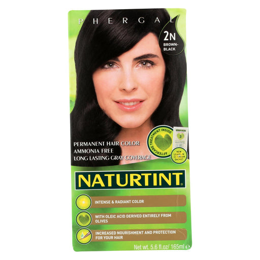 Naturtint Hair Color - Permanent - 2n - Brown Black - 5.28 Oz