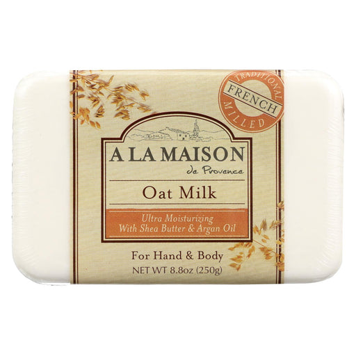 A La Maison Bar Soap - Oat Milk - 8.8 Oz
