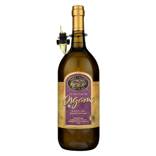 Napa Valley Naturals Organic Extra Virgin Olive Oil - Case Of 6 - 50.8 Fl Oz.