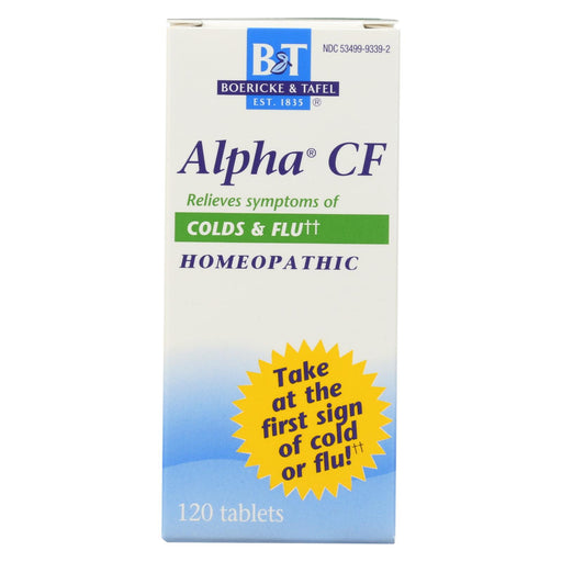 Boericke And Tafel Alpha Cf - 120 Tablets