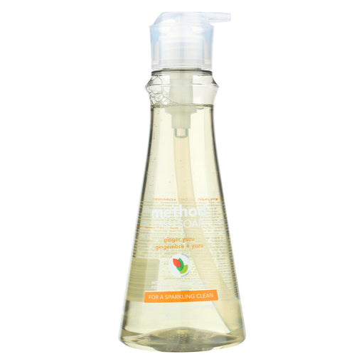 Method Products Dish Soap - Ginger Yuzu - Case Of 6 - 18 Oz.