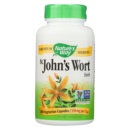 Nature's Way St John's Wort Herb - 180 Capsules