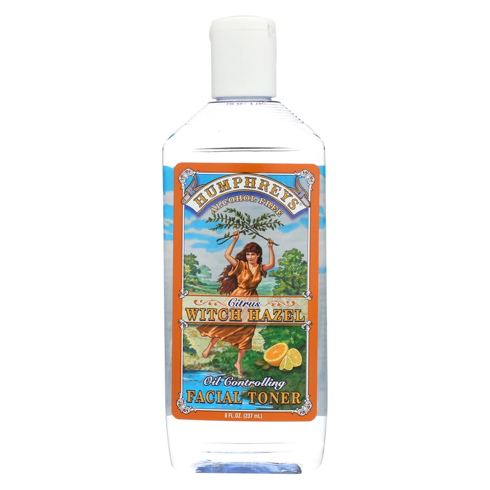 Humphrey's Homeopathic Remedy Witch Hazel Facial Toner Citrus - 8 Fl Oz