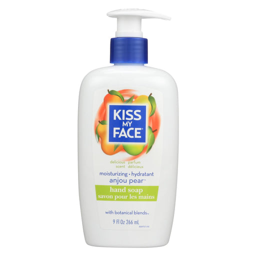 Kiss My Face Moisture Soap Pear - 9 Fl Oz