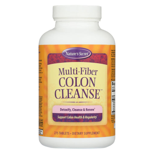 Nature's Secret Multi-fiber Cleanse - 275 Tablets