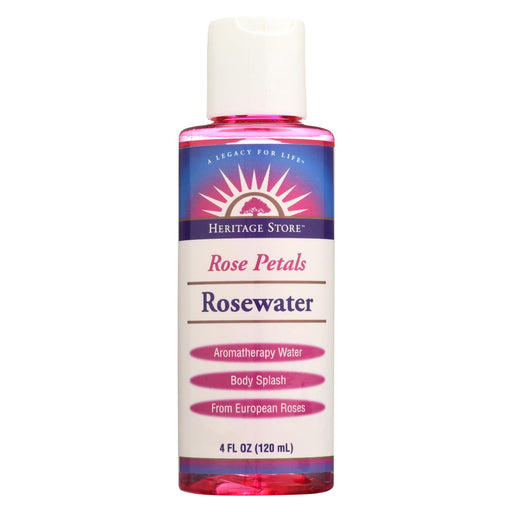 Heritage Products Rose Petals Rosewater - 4 Fl Oz