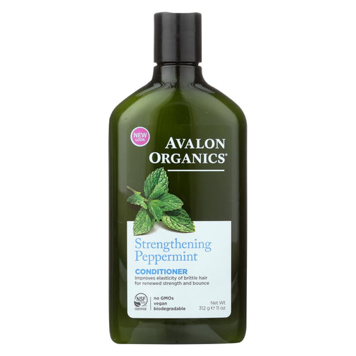 Avalon Organics Revitalizing Conditioner With Babassu Oil Peppermint - 11 Fl Oz