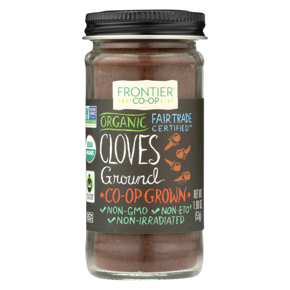 Frontier Herb Cloves - Organic - Fair Trade Certified - Ground - 1.9 Oz