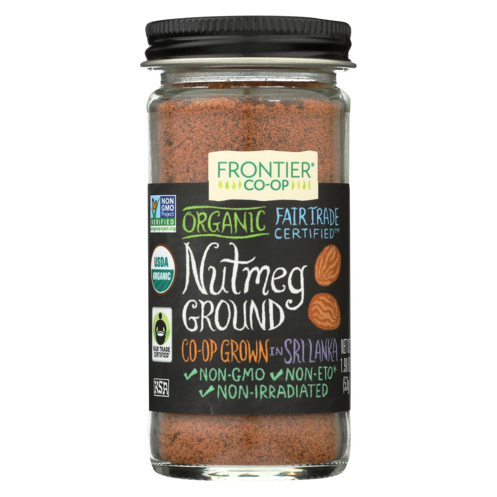 Frontier Herb Nutmeg - Organic - Fair Trade Certified - Ground - 1.9 Oz