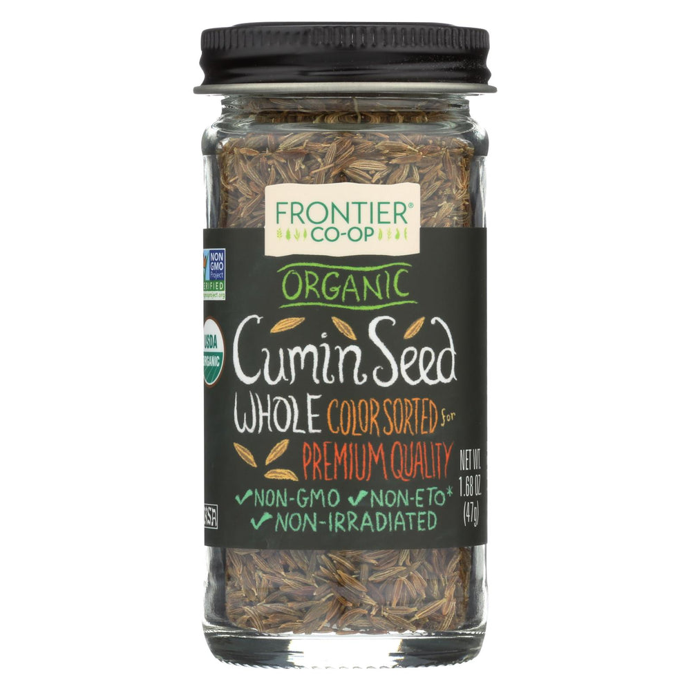 Frontier Herb Cumin Seed - Organic - Whole - 1.68 Oz