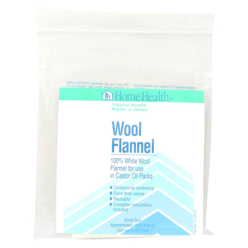 Home Health Wool Flannel Small - 1 Cloth