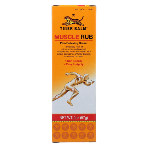 Tiger Balm Fast Relief Muscle Rub Topical Analgesic Cream - 2 Oz