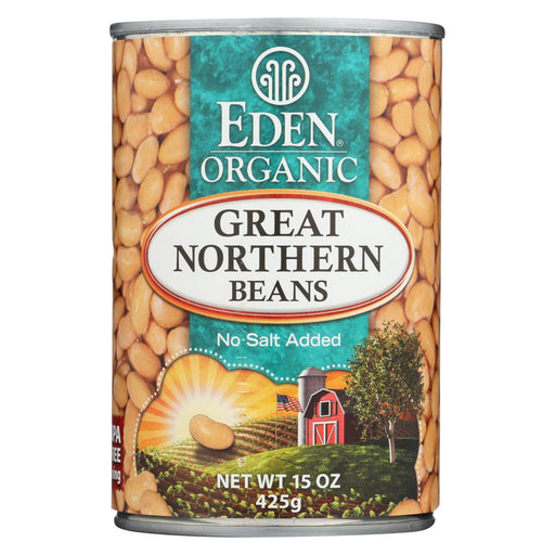 Eden Foods Great Northern Beans Organic - Case Of 12 - 15 Oz.