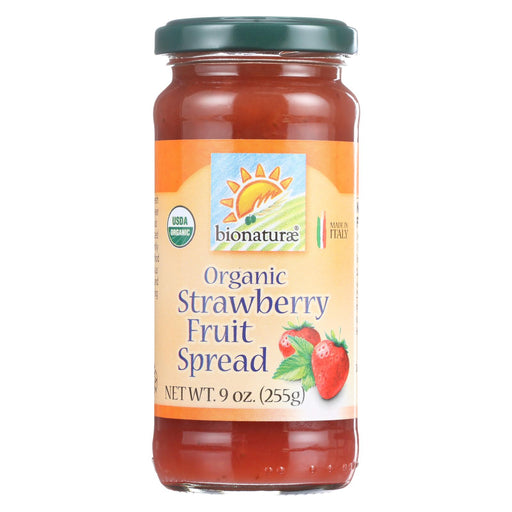 Bionaturae Fruit Spread - Organic - Strawberry - 9 Oz - Case Of 12