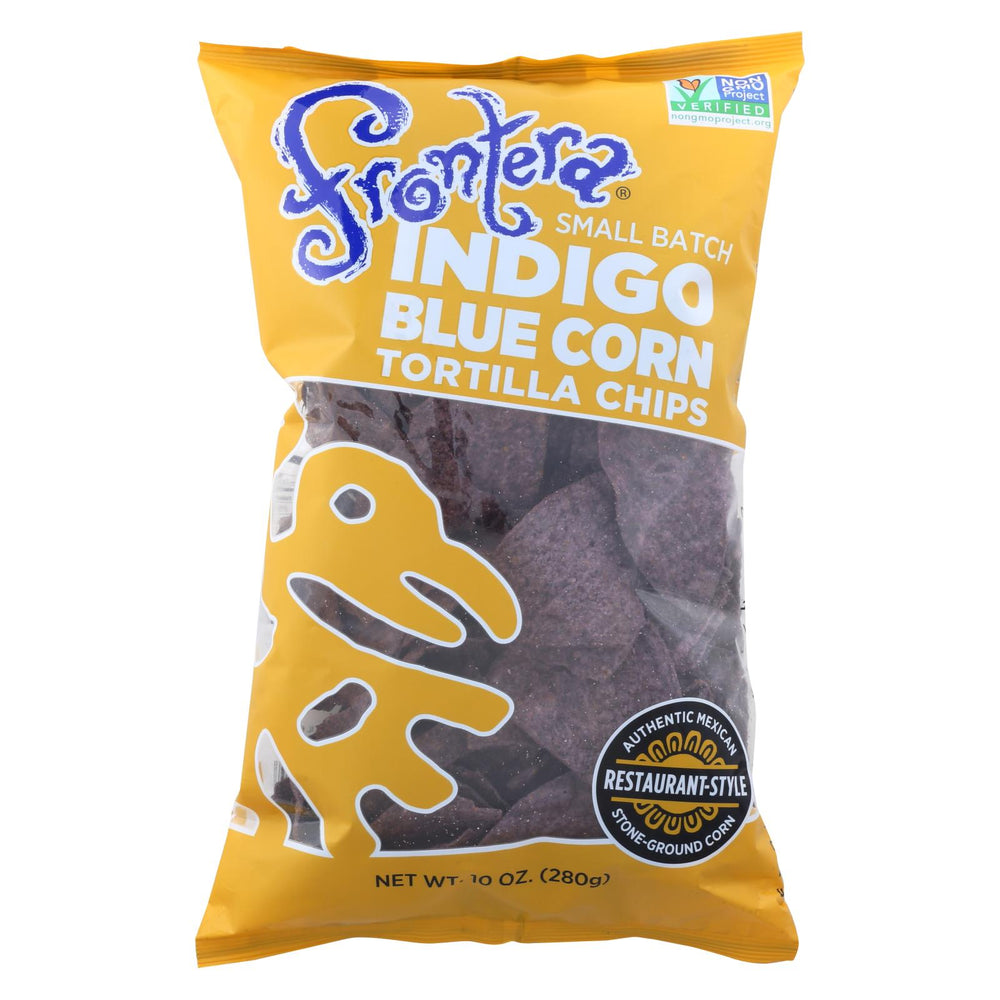 Frontera Foods Tortilla Chip - Blue Corn - Case Of 12 - 10 Oz