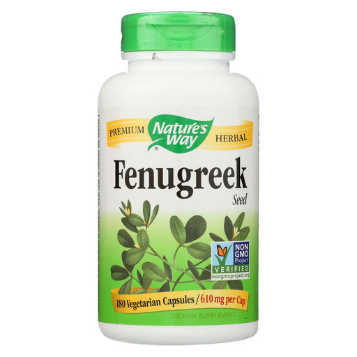 Nature's Way Fenugreek Seed - 180 Capsules