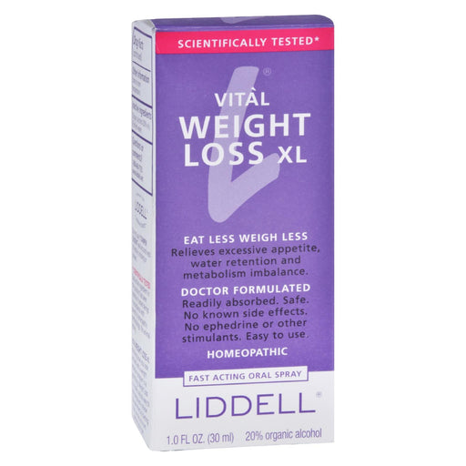 Liddell Homeopathic Weight Loss Xl - 1 Fl Oz