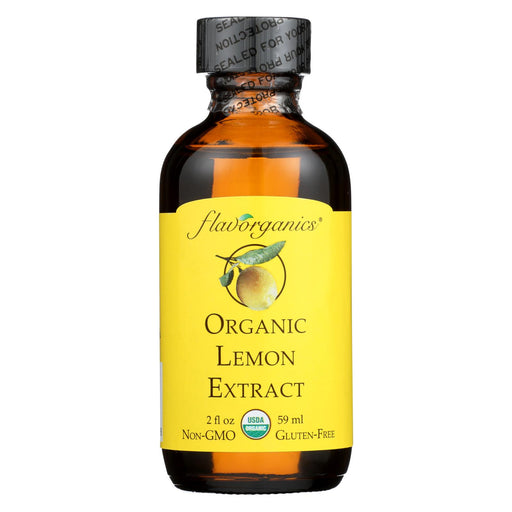 Flavorganics Organic Lemon Extract - 2 Oz