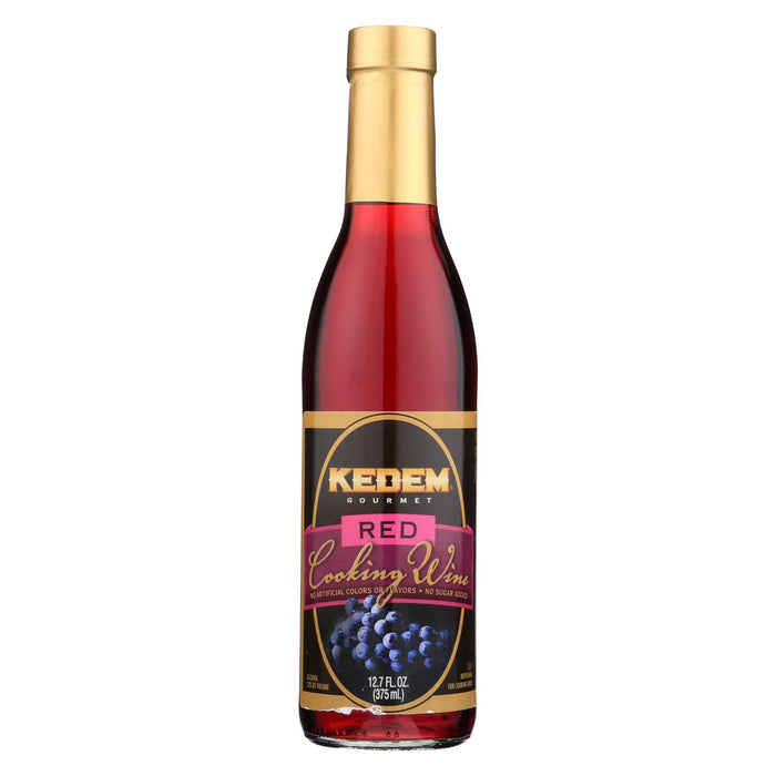 Kedem Cooking Wine - Case Of 12 - 12.7 Fl Oz.