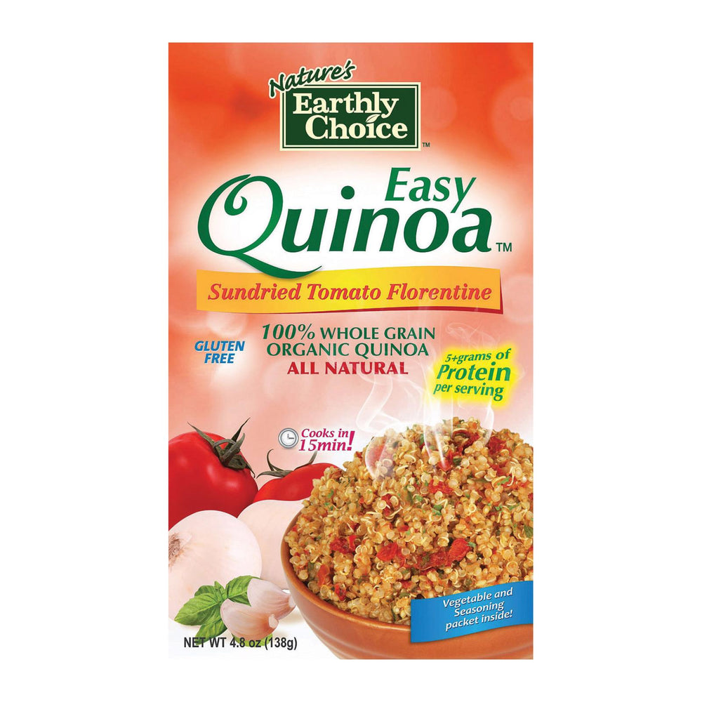 Nature's Earthly Choice Easy Quinoa - Tomato - Case Of 6 - 4.8 Oz.