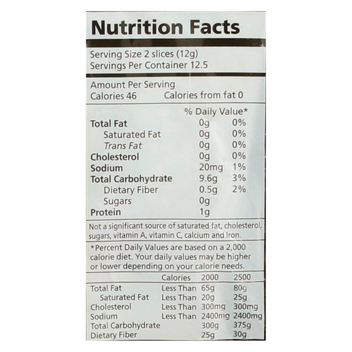 Real Foods Wholegrain Rice Thins - Case Of 6 - 5.3 Oz.