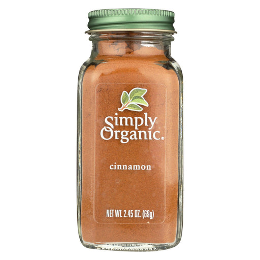 Simply Organic Cinnamon - Case Of 6 - 2.45 Oz.