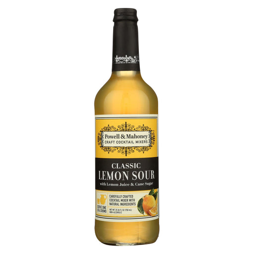 Powell And Mahoney Cocktail Mixer - Lemon Sour - Case Of 6 - 25.36 Fl Oz
