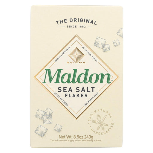 Maldon Flakes - Sea Salt - Case Of 12 - 8.5 Oz.