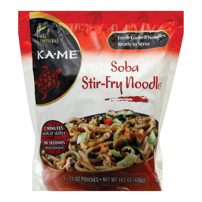 Ka'me Soba Stir Fry Noodles - Case Of 6 - 14.2 Oz.