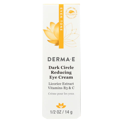 Derma E Evenly Radiant Dark Circle Eye Creme - 0.5 Oz