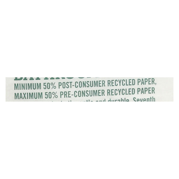 Seventh Generation Bathroom Tissue - 1 Ply 1000 Sheet Roll - Case Of 60