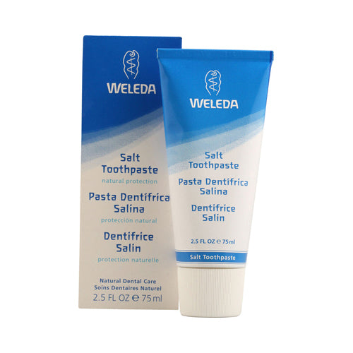 Weleda Salt Toothpaste Peppermint - 2.5 Oz