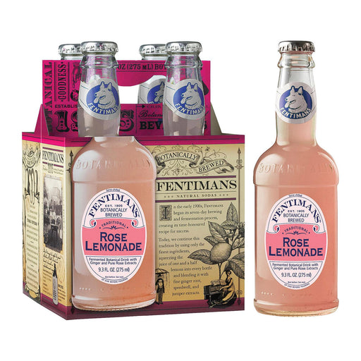 Fentimans North America Rose Lemonade - Lemonade - Case Of 6 - 9.3 Fl Oz.