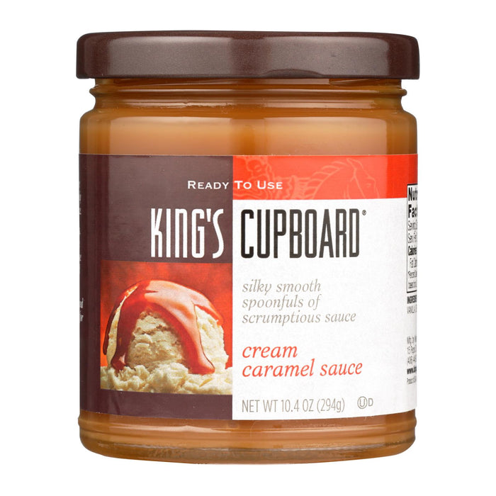 The King's Cupboard Cream - Caramel Sauce - Case Of 12 - 10.4 Oz.