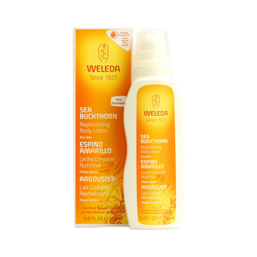 Weleda Replenishing Body Lotion Sea Buckthorn - 6.8 Fl Oz
