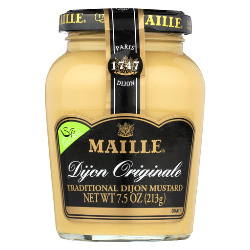 Maille Mustard - Dijon - Origale - Natural - Traditional - 7.5 Oz - Case Of 6
