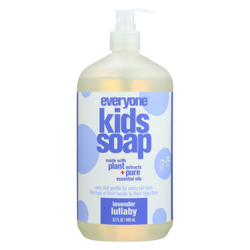 Eo Products Soap - Everyone For Kids - 3-in-1 - Lavender Lullaby Botanical - 32 Oz - 1 Each