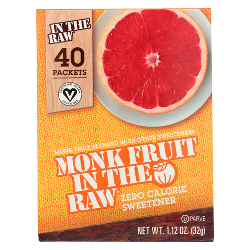 Monk Fruit In The Raw Monk Fruit In The Raw - 40 Packets - Case Of 8