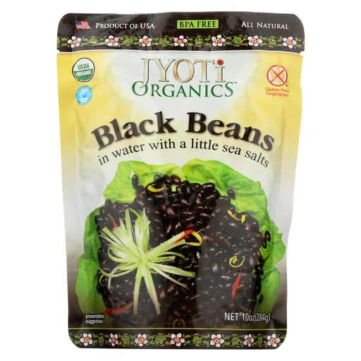 Jyoti Cuisine India Black Beans - Case Of 6 - 10 Oz.