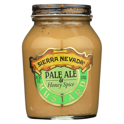 Sierra Nevada Specialty Food Mustard - Pale Ale And Honey - Case Of 6 - 8 Oz.
