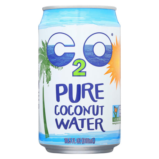 C2o Pure Coconut Water Pure Coconut Water - Case Of 24 - 10.5 Fl Oz