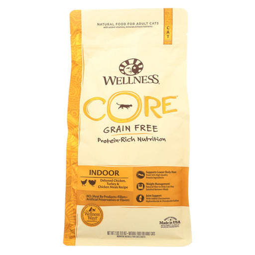 Wellness Pet Products Cat Food - Core Air Dried Cat Recipes - Case Of 8 - 2 Lb.