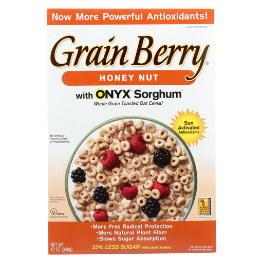 Grain Berry Antioxidants Whole Grain Cereal - Honey Nut - Case Of 6 - 12 Oz.