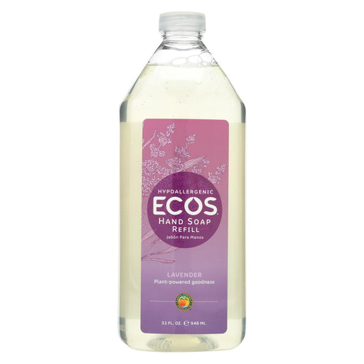 Earth Friendly Hand Soap Refill - Lavender - Case Of 6 - 32 Fl Oz.