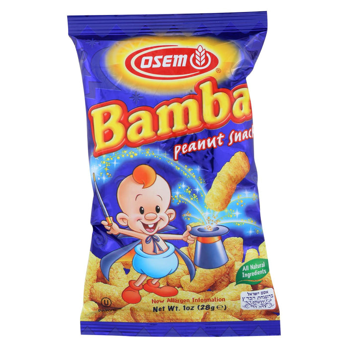 Osem Bamba - Snack - Case Of 24 - 1 Oz.
