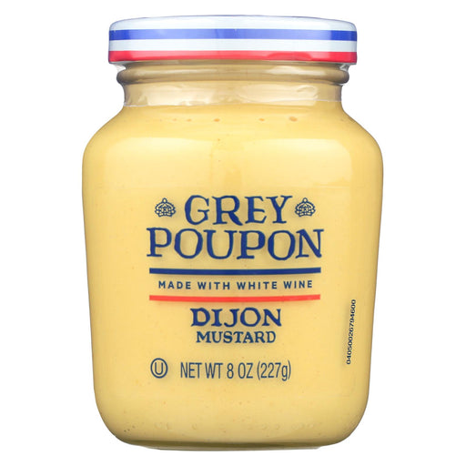 Grey Poupon Mustard Dijon - Case Of 12 - 8 Oz